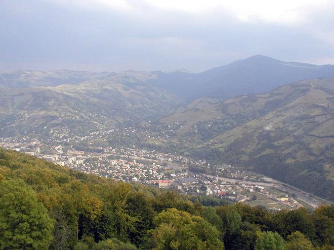 Найбільш високогірне місто Карпат